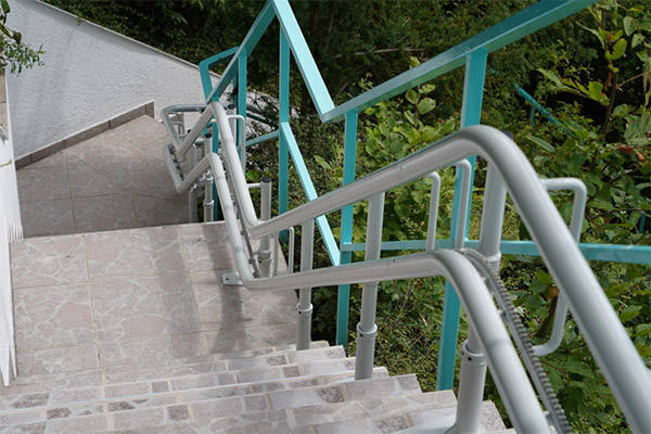 Outdoor Alpha για Eξωτερικές Σκάλες